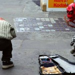 Kind und Kasperl in Dublin